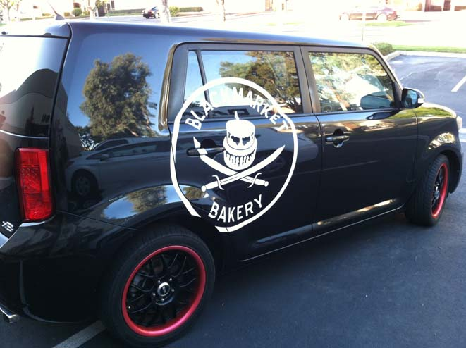 vinyl on scion xb