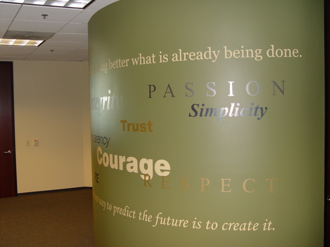 customized vinyl wall graphics