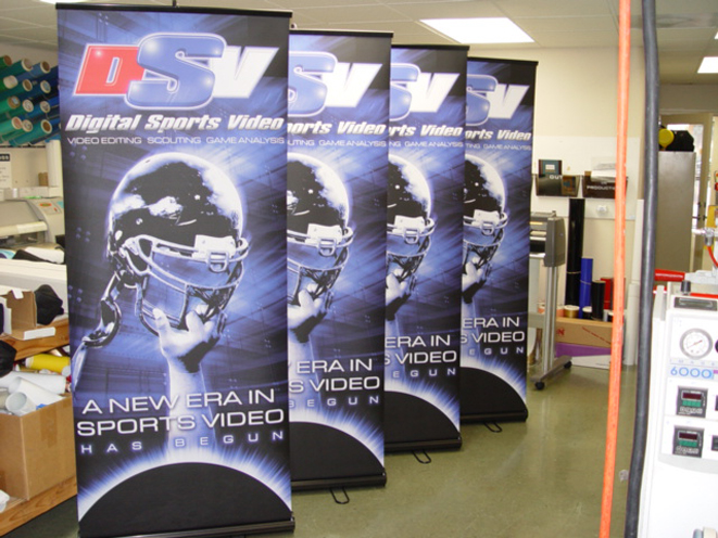 Banner stands come with lifetime warranty on all hardware.  Contact us for more details.